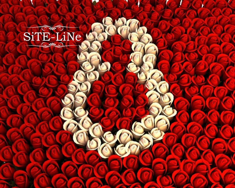 Поздравление с 8 марта от студии SiTe-LiNe